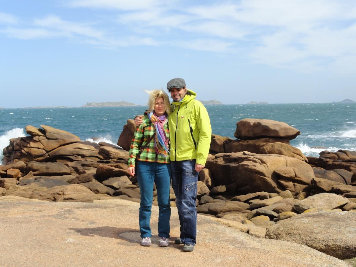 Tania & Fabrice from Bourg-Saint-Maurice