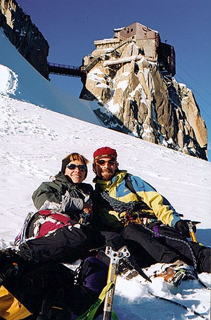 Rob And Gen from Chamonix
