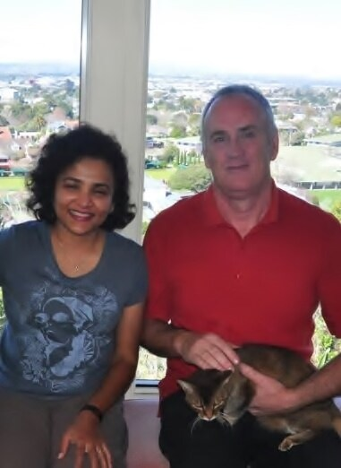Your hosts are John and Mali Morton. Originally fr