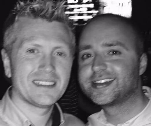 Damien & Keith From Birr, Ireland