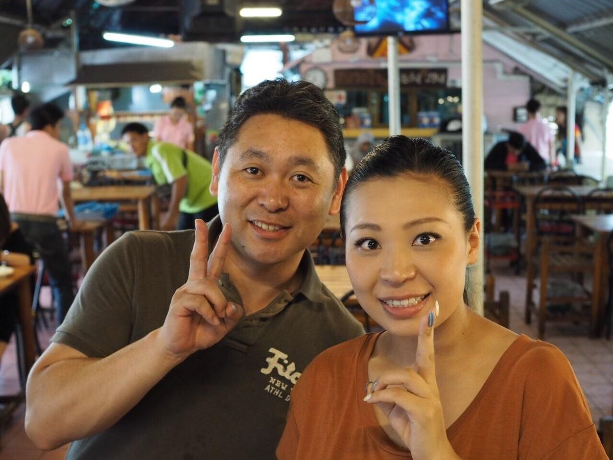 Im japanese. I like bangkok and thai people.  Ple