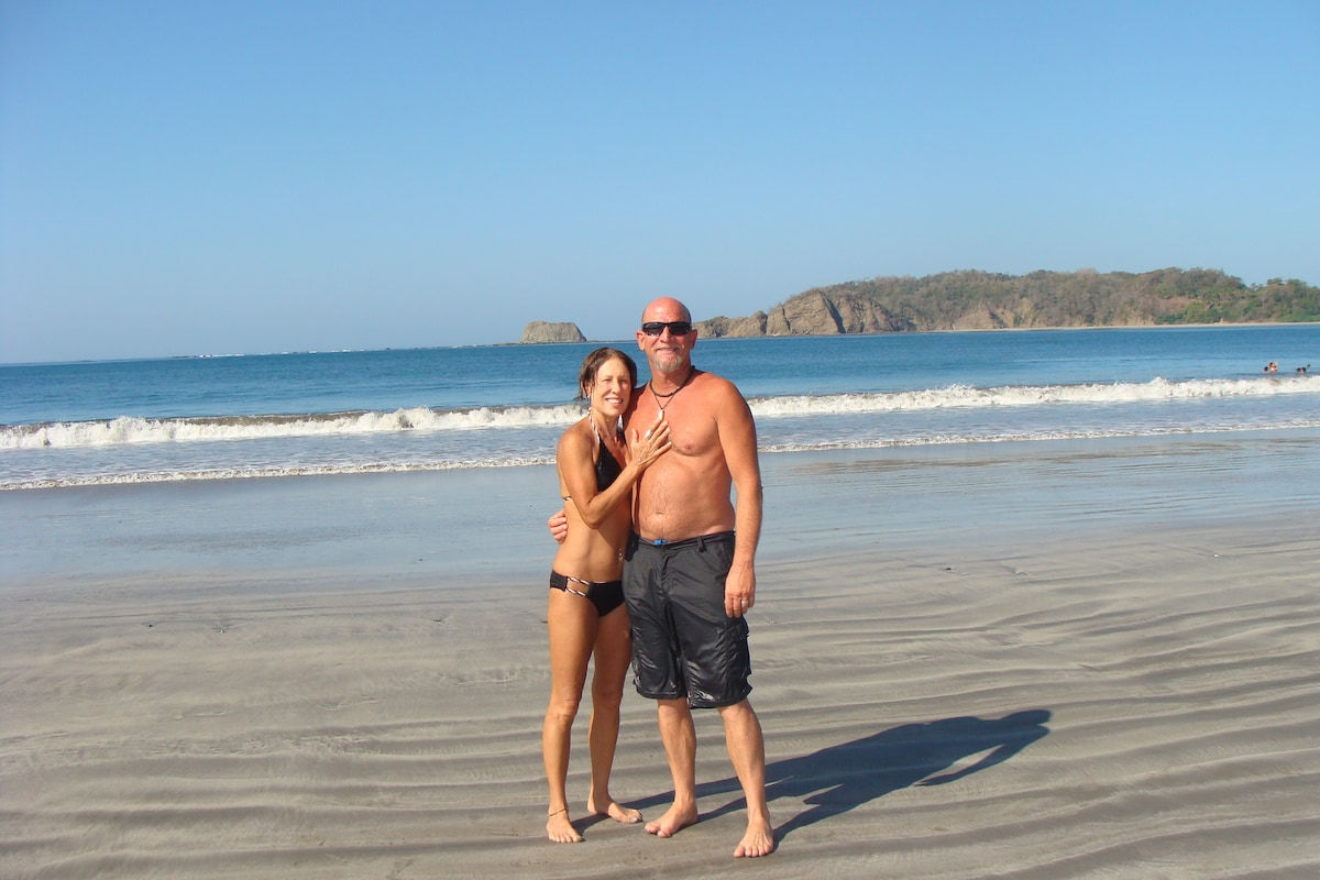 Me and my husband, Kevin, love living life as full