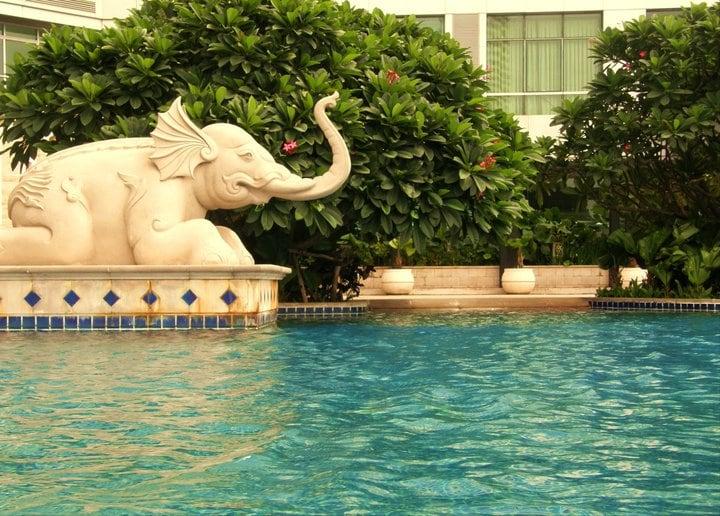 I live in Bangkok, in the same building where I re