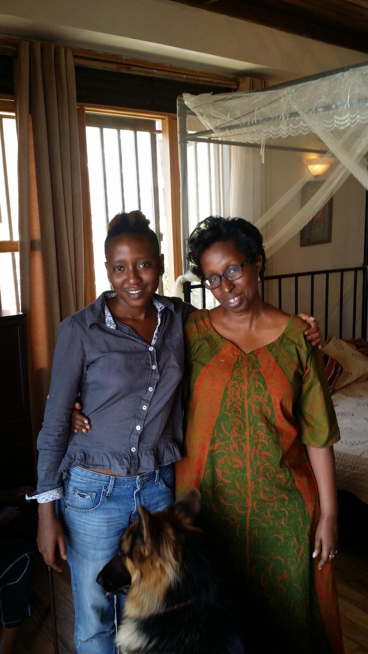 Susan from Kampala