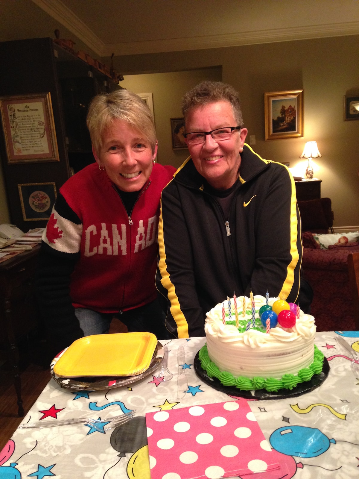 Nancy And Catherine from Welland
