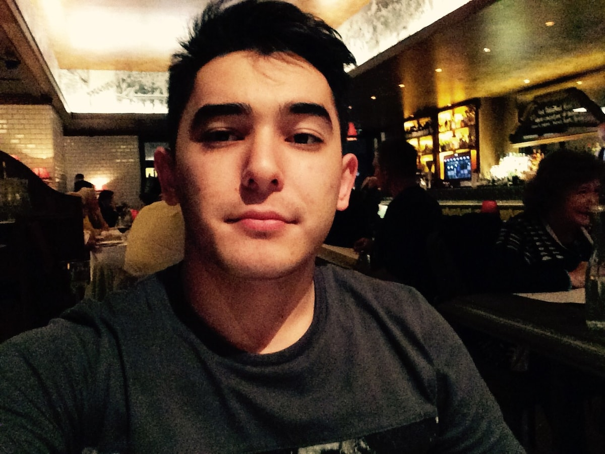 Sean from Tashkent