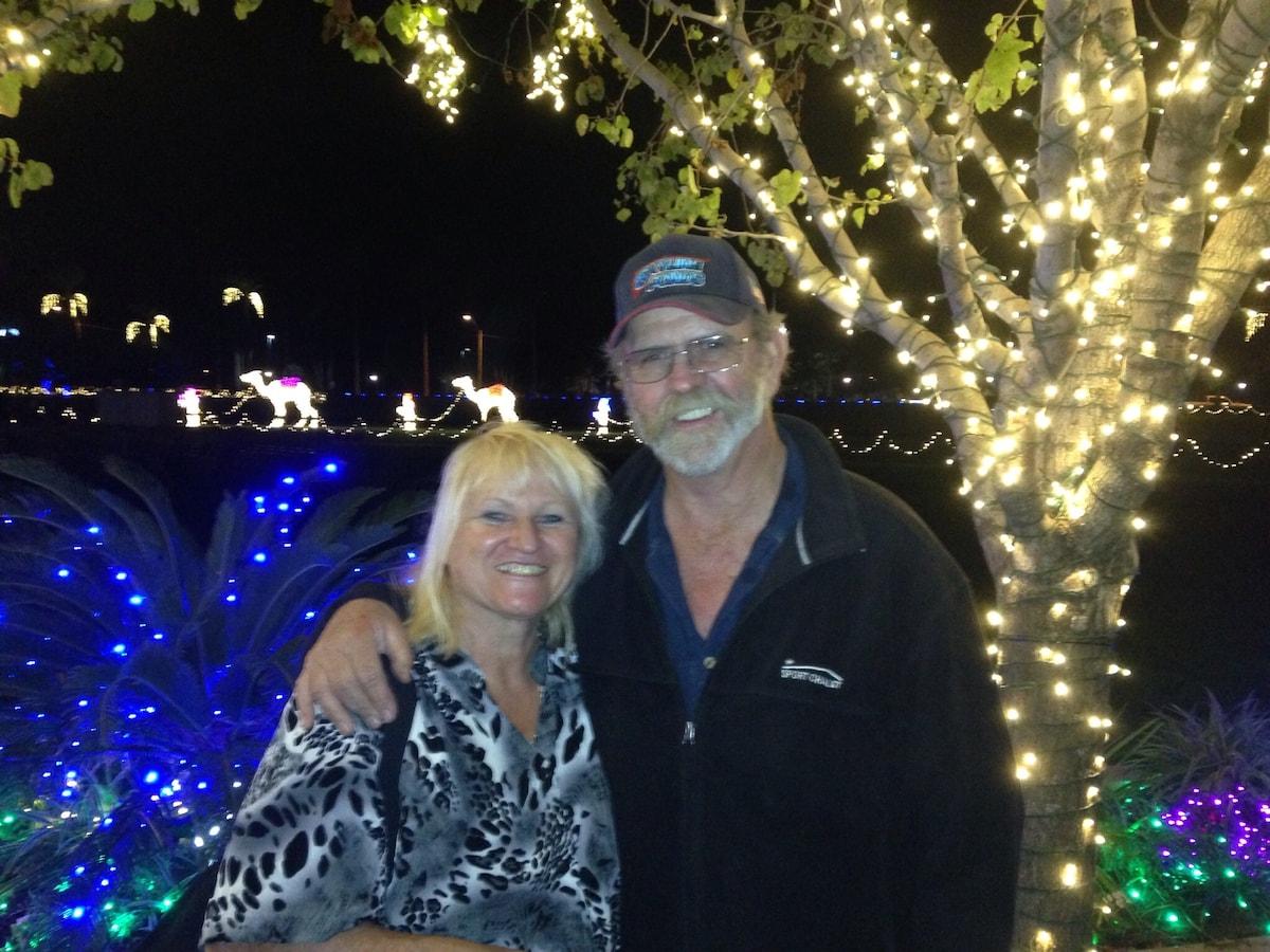 Bernie and I have been married 41 years. Bernie bu