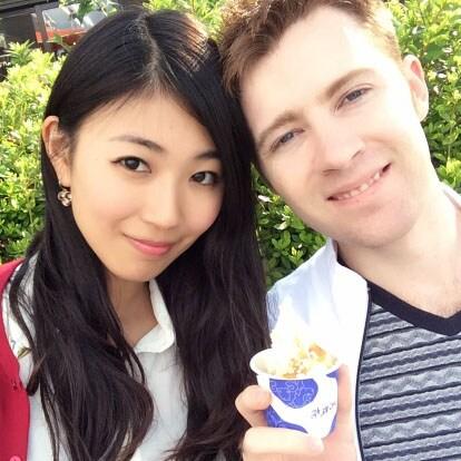 Justin & Miho from Meguro-ku
