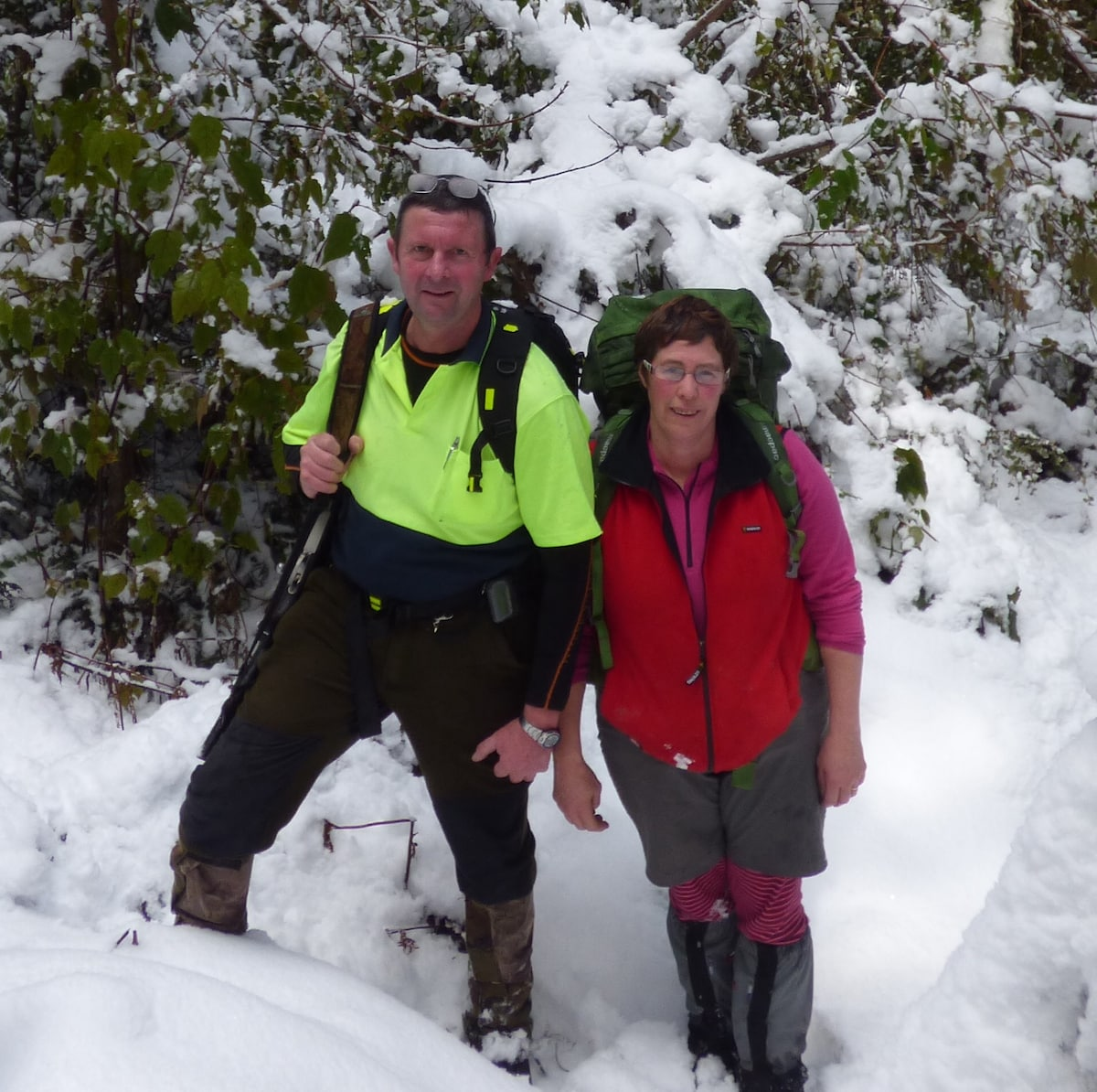 Linda & John from Te Anau