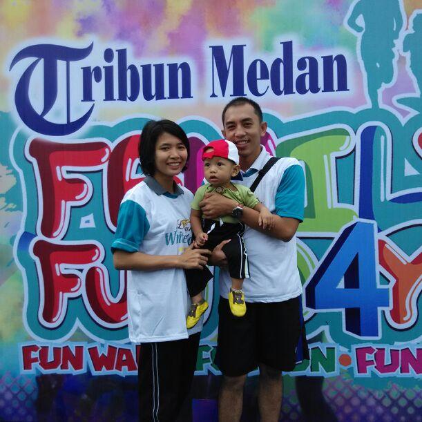 Andrio & Ratni From Medan, Indonesia
