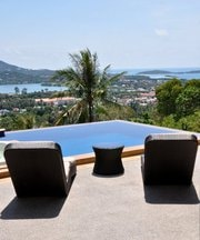 We are a couple who lives in Koh Samui. We work to