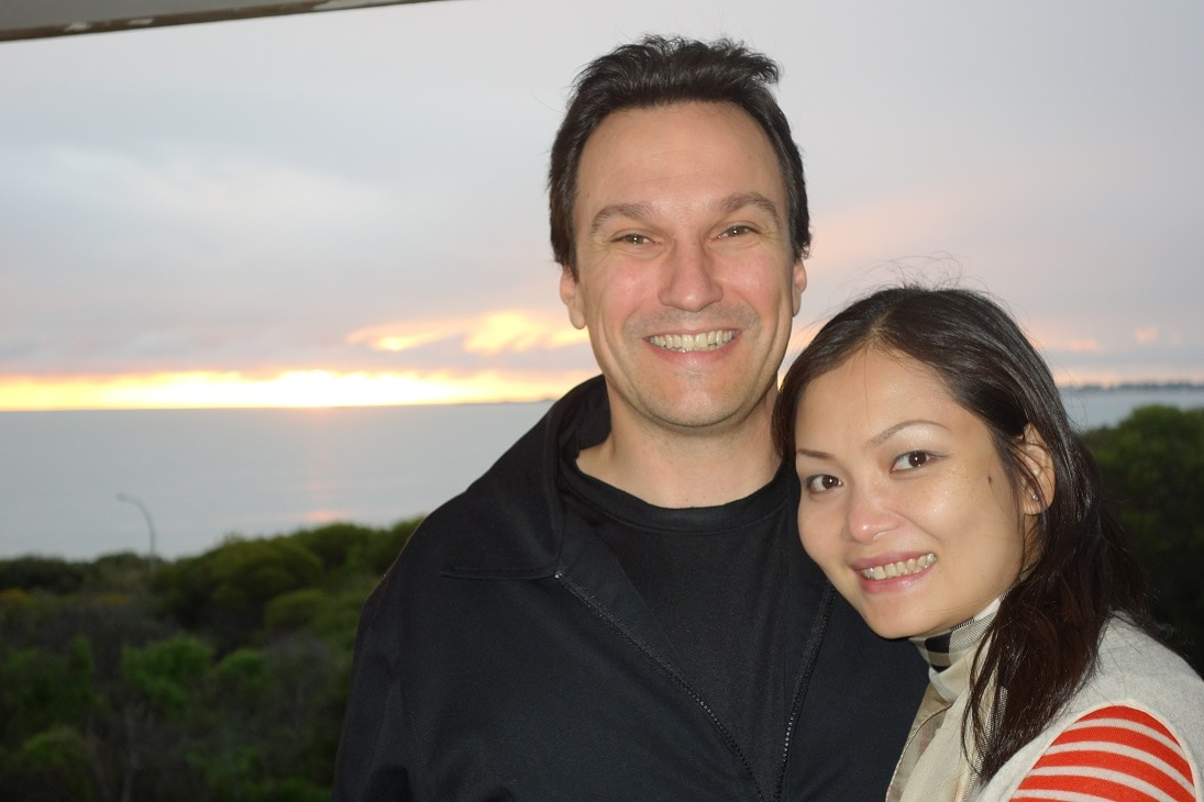 James And Thuy From Bicton, Australia