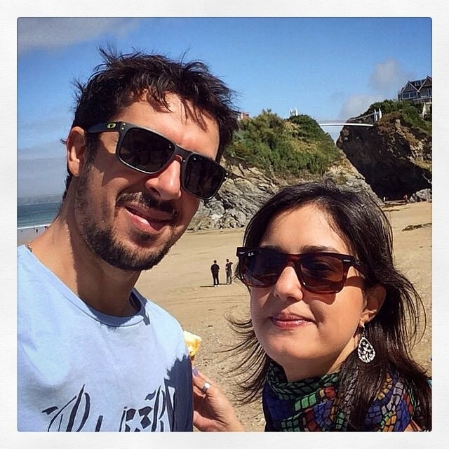 I'm Brazilian, married. My husband and I decided t