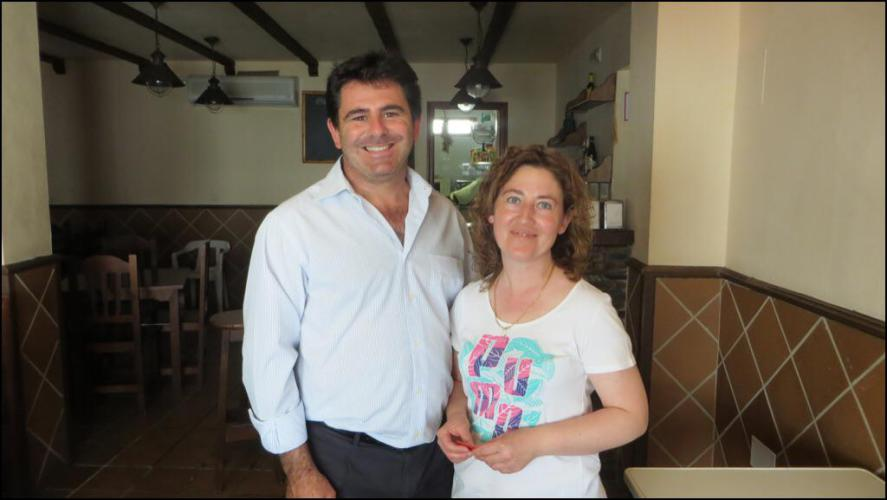 María Luisa From Hinojales, Spain