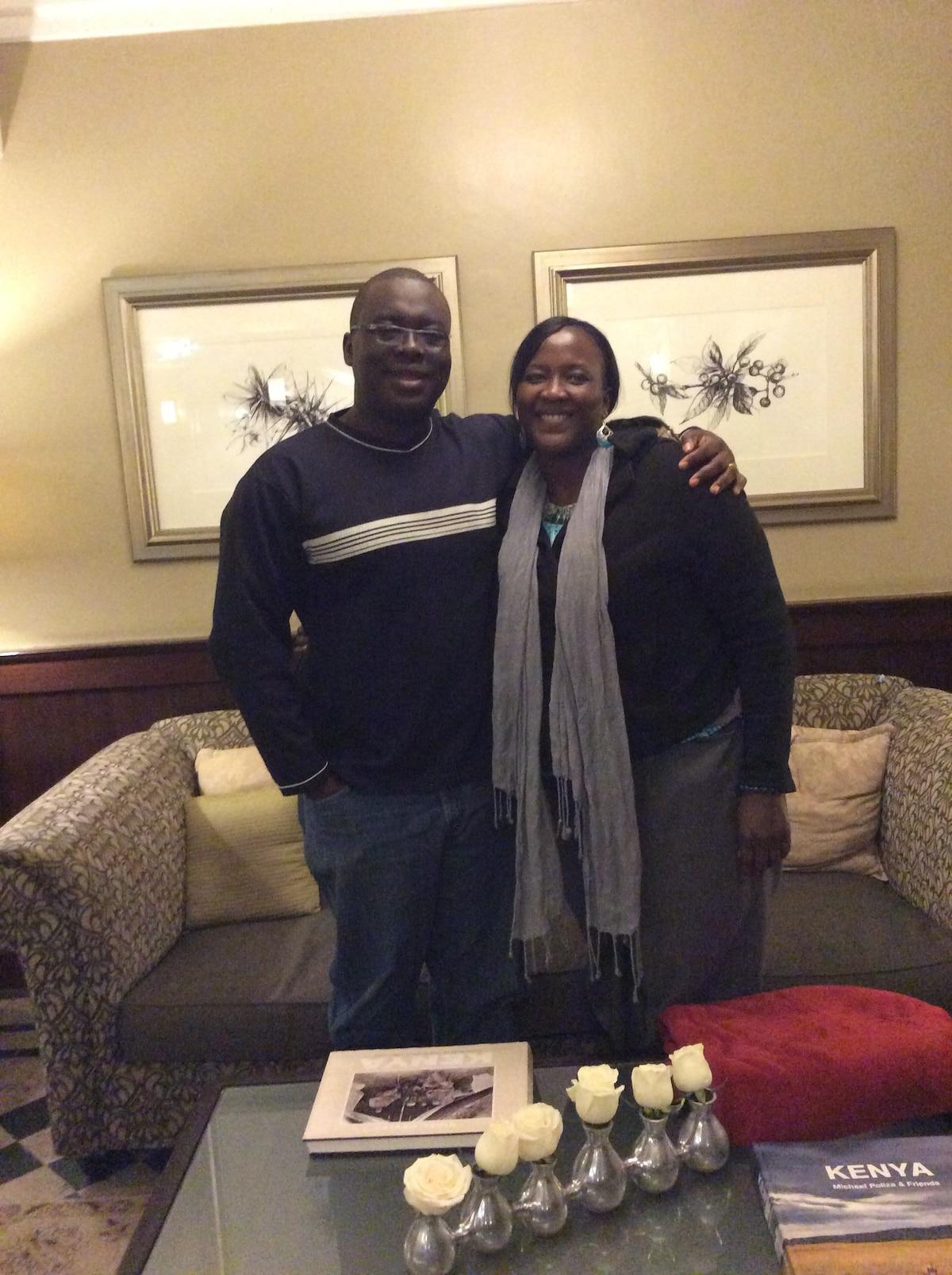 Jack & Abi From Nairobi, Kenya