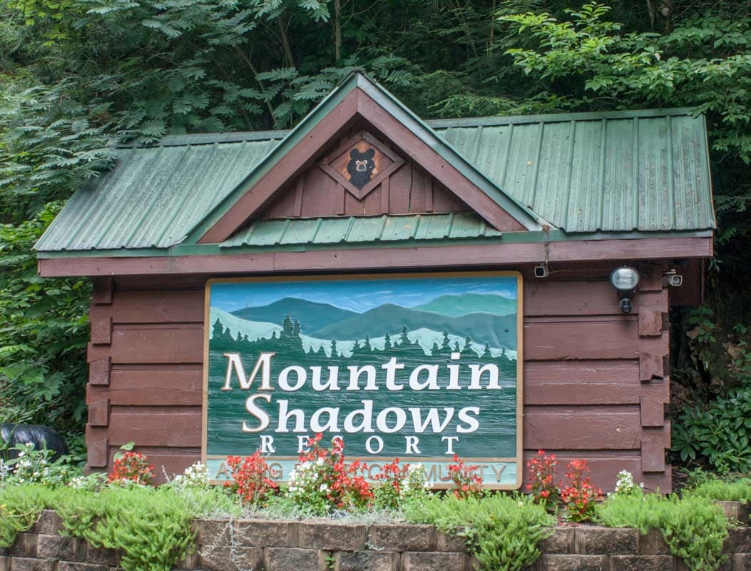 Mountain Shadows Resort is a community of log cabi