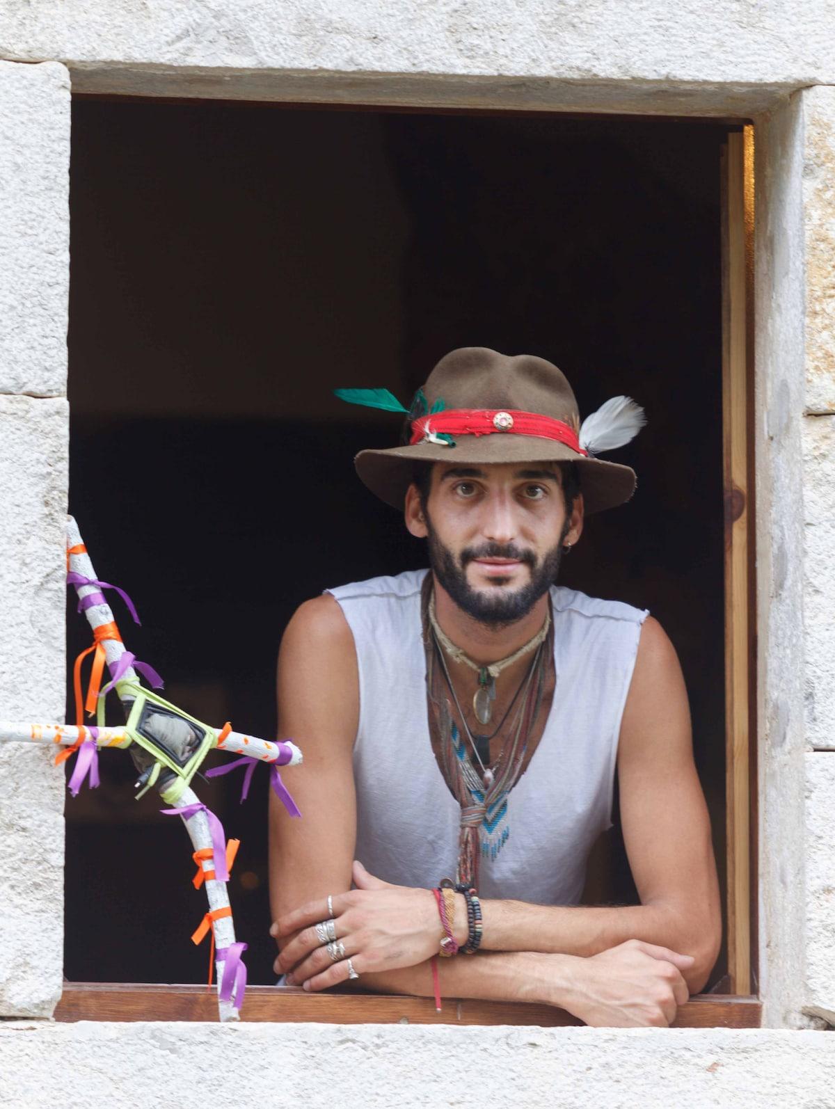 Esteve Tlayoltehuiani Vicens Pinto from Caldes de Malavella