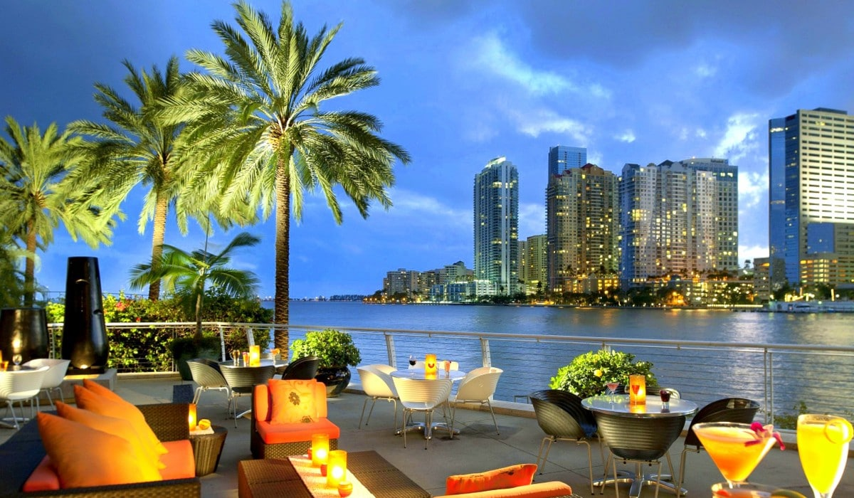 Because I love the outdoors, I find Miami to be on