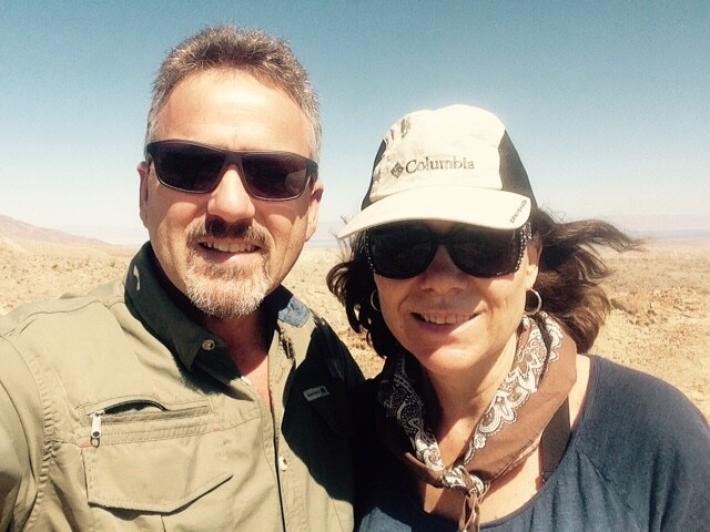 Barbara And David from Borrego Springs