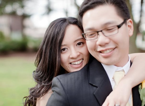My husband and I are from Vancouver, British Colum