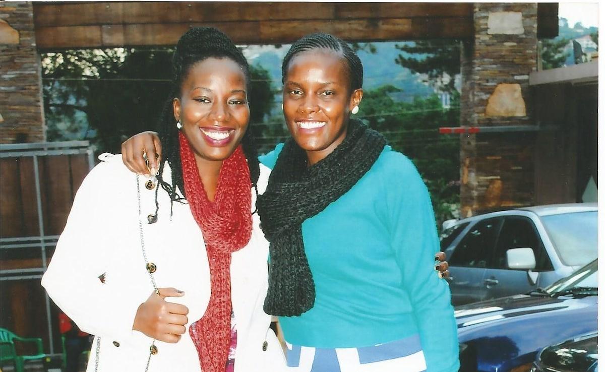 Mariam And Hope From Kampala, Uganda