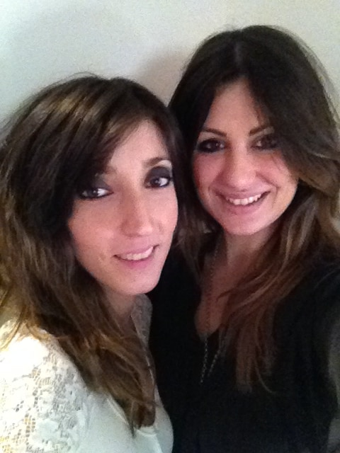 We are Celeste and Flavia,  we live in Rome , we