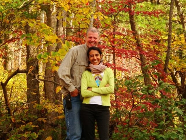 David And Kumud from Stanardsville