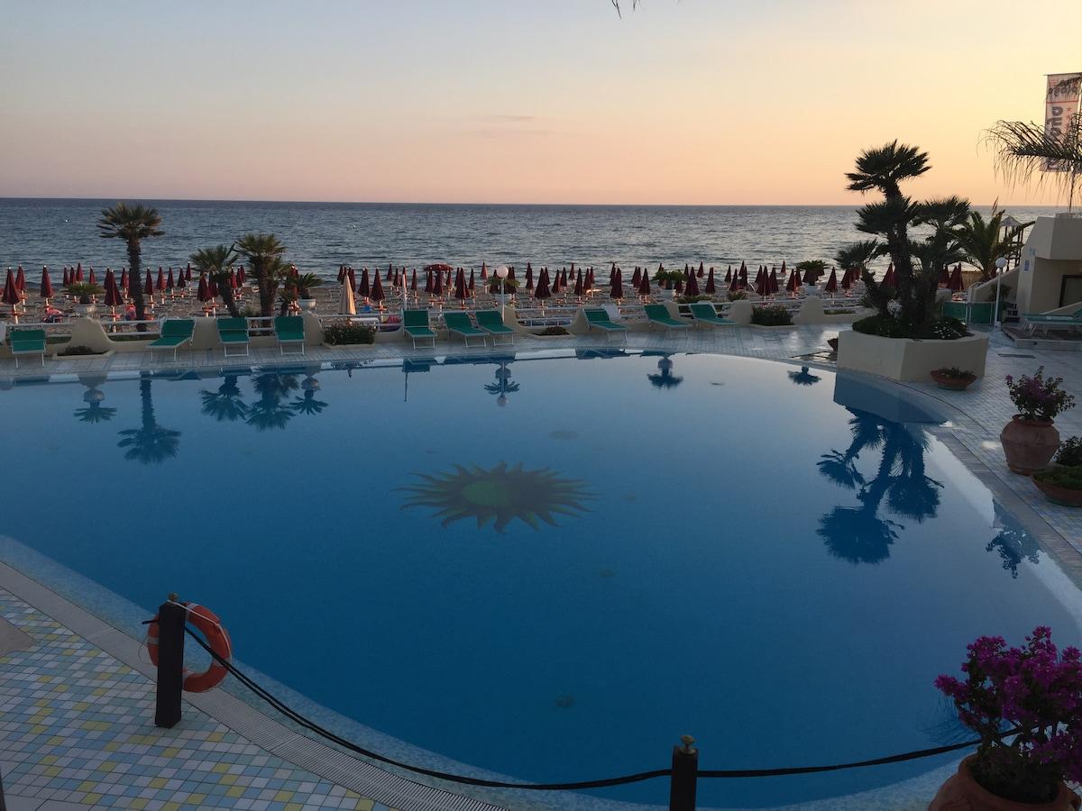 Hotel La Playa from Sperlonga