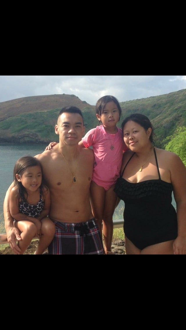 Hi! We are a family of four. I am Laotian born in