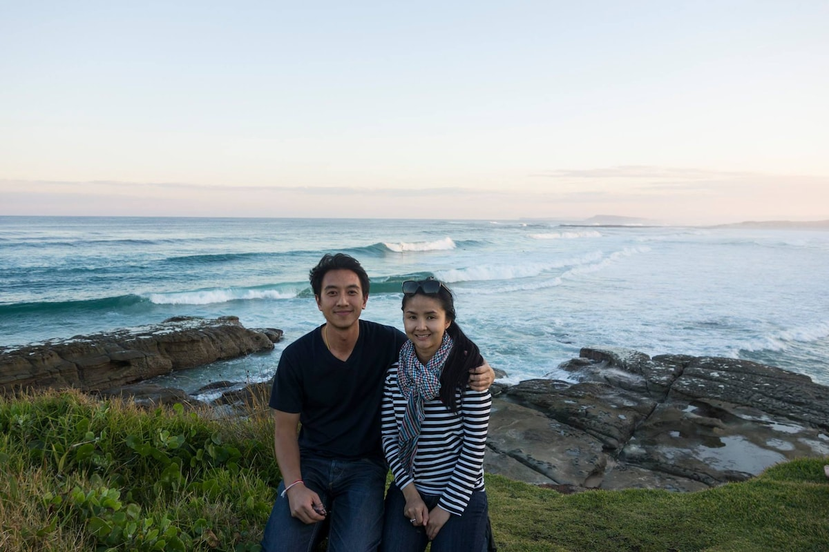 We are a couple from Sydney, Australia who love tr