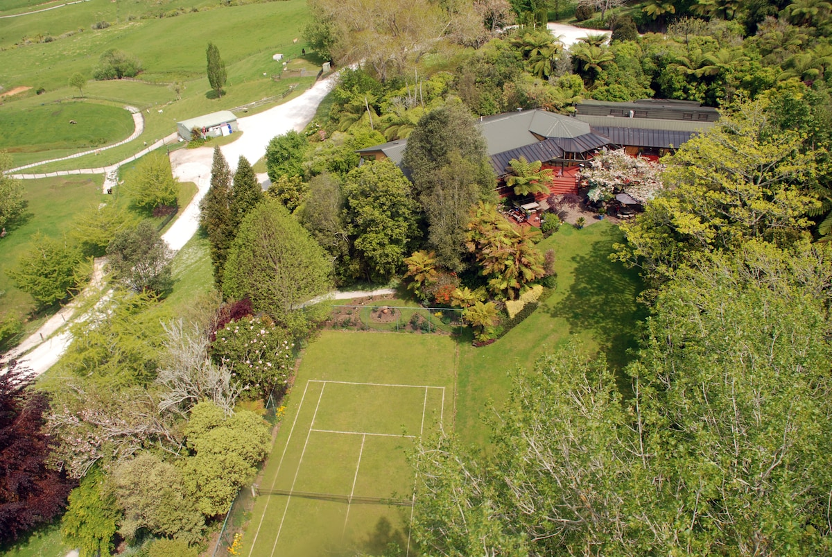 Roselands is situated 3km from Waitomo Caves Villa
