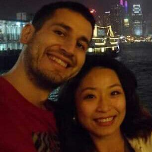 We are a a Taiwanese-Spanish couple living in Kaoh