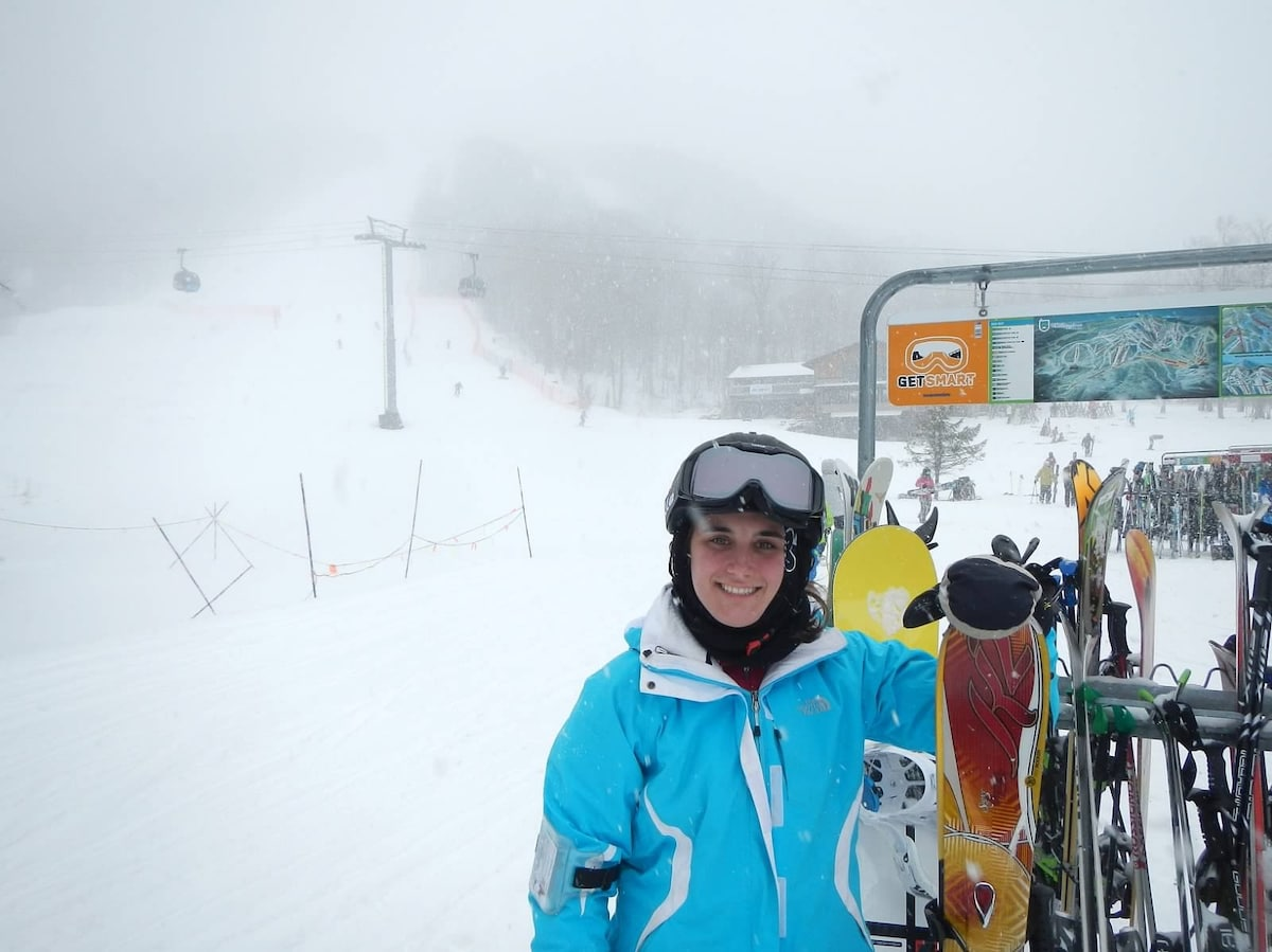 Active skier and love the outdoors.