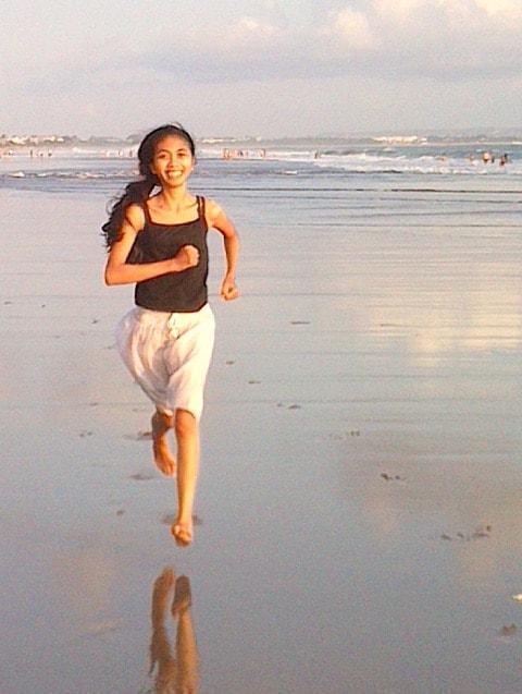 Faye From Kuta, Indonesia