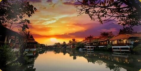 Khum Nakorn Villa from Umong