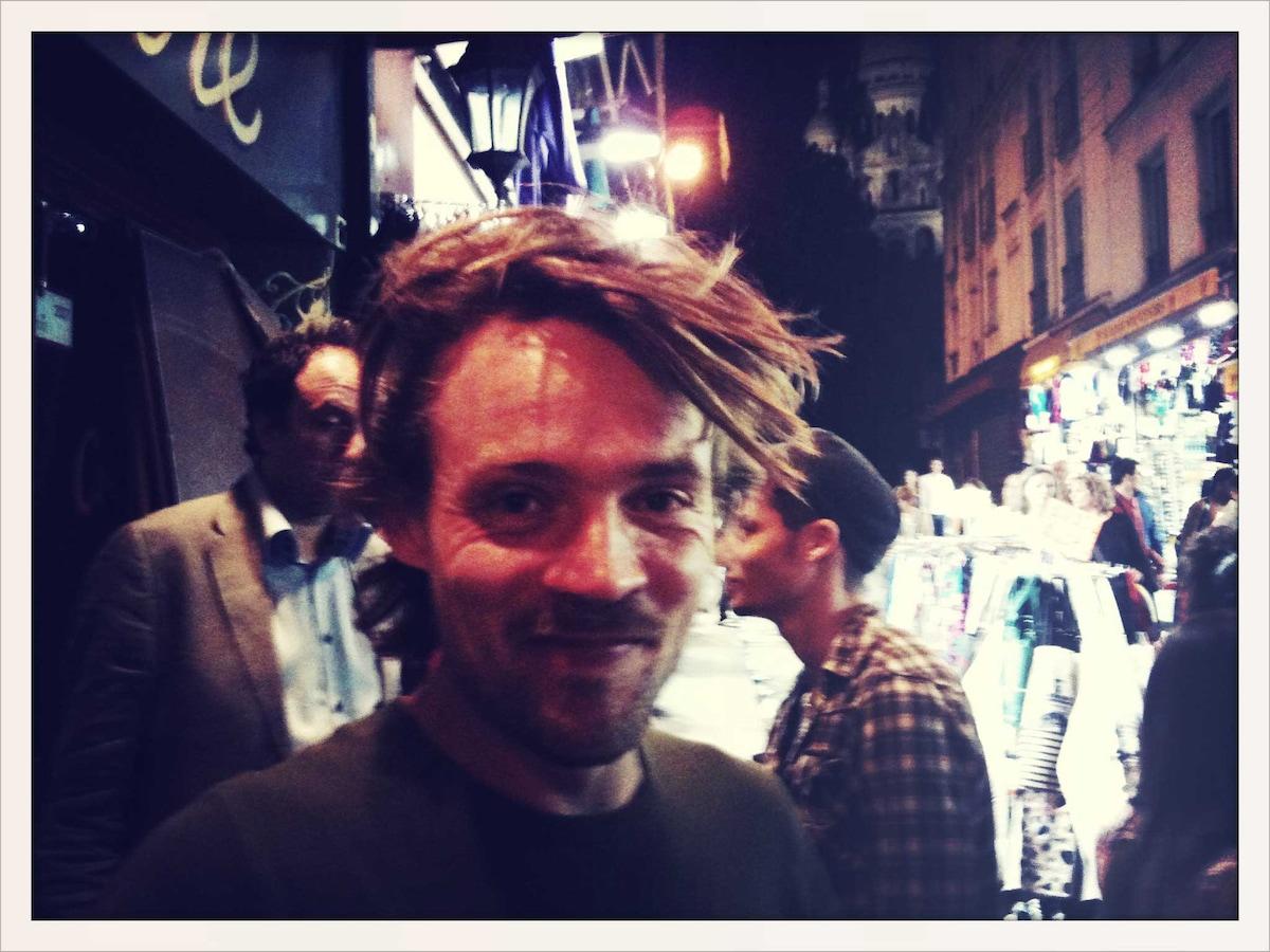 I live in Amsterdam. I am a filmmaker. Besides mak