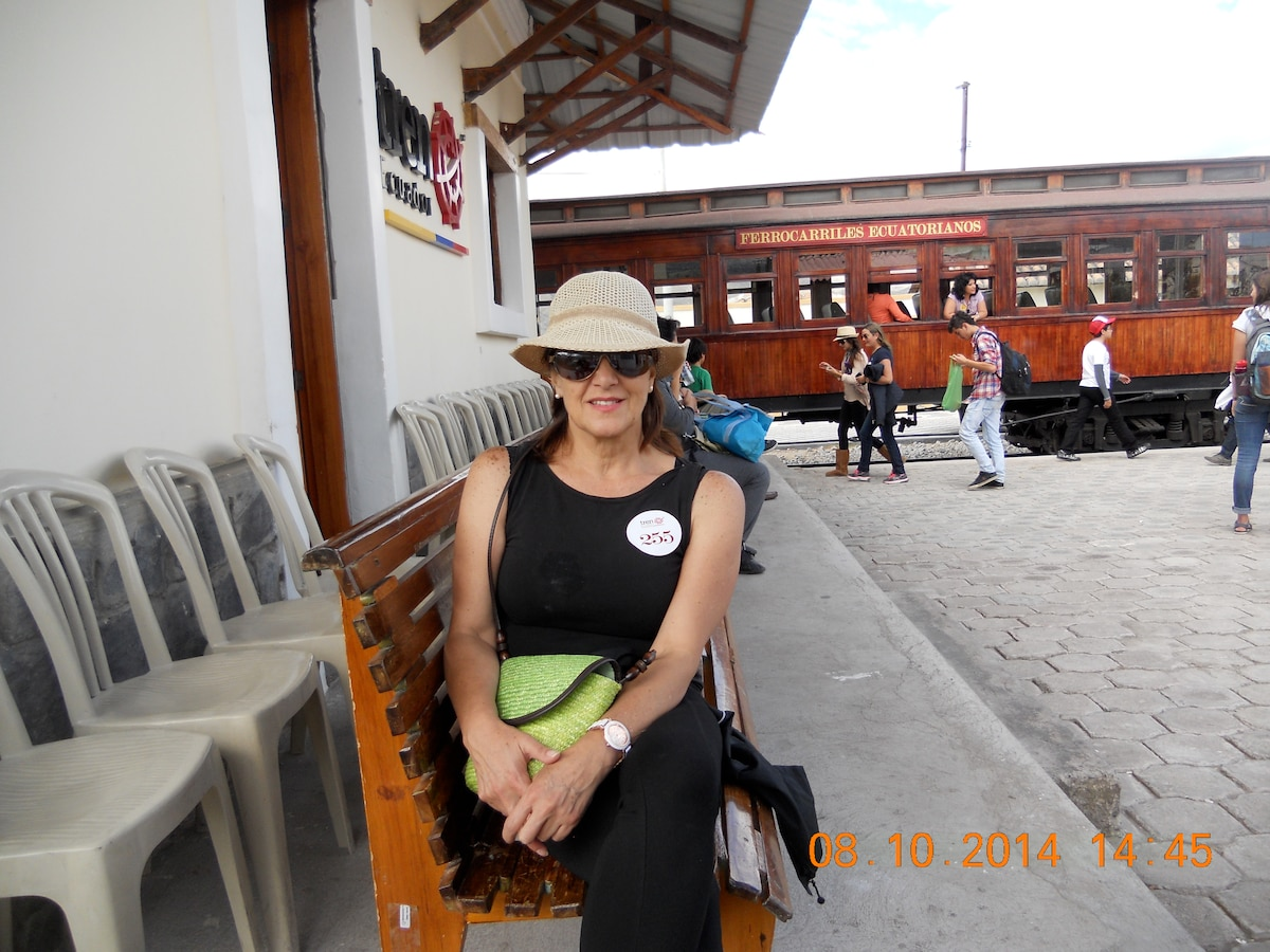 Marcela from Quito