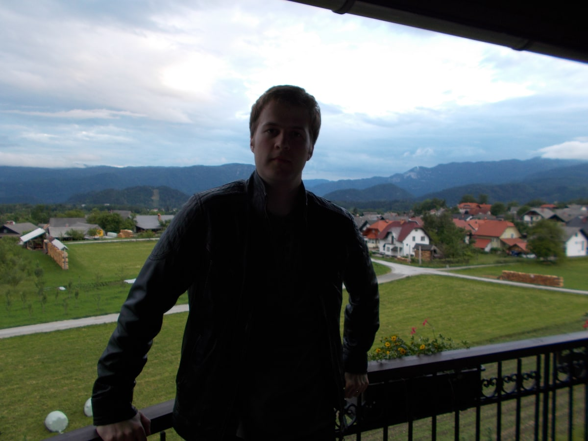 Simon From Bled, Slovenia