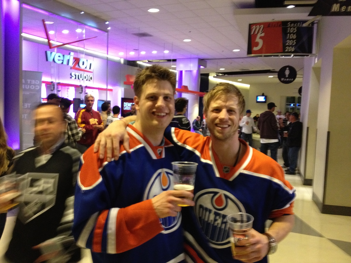 Corey And Darrell from Edmonton