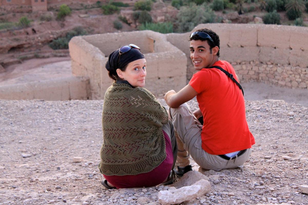 Natalia & Mahjoub from Mhamid
