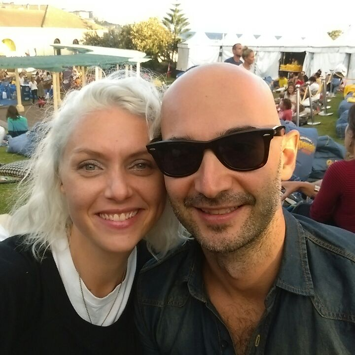 Couple living in Sydney.  Laura is a musician and