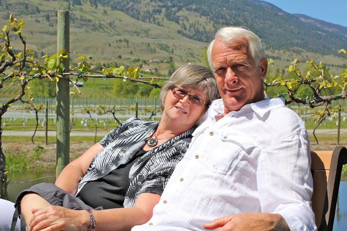 """We are a """"young"""" retired couple and love camping a"""