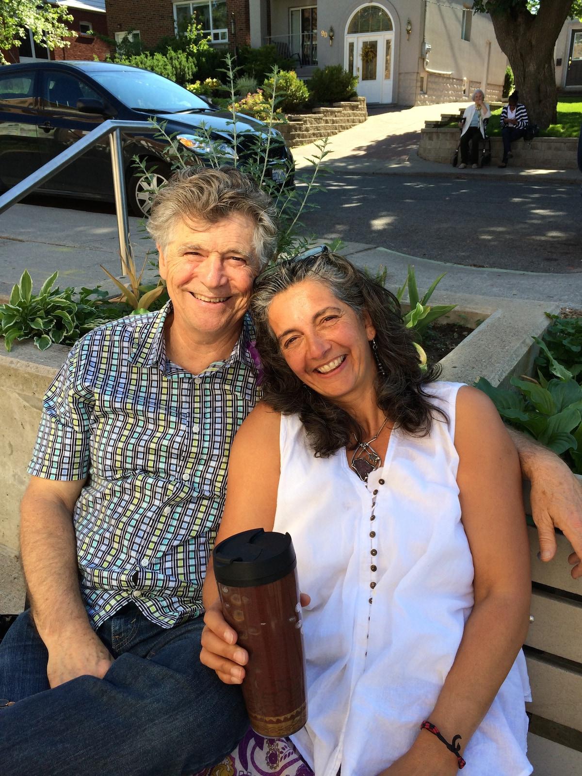 Jon And Satya From Mono, Canada