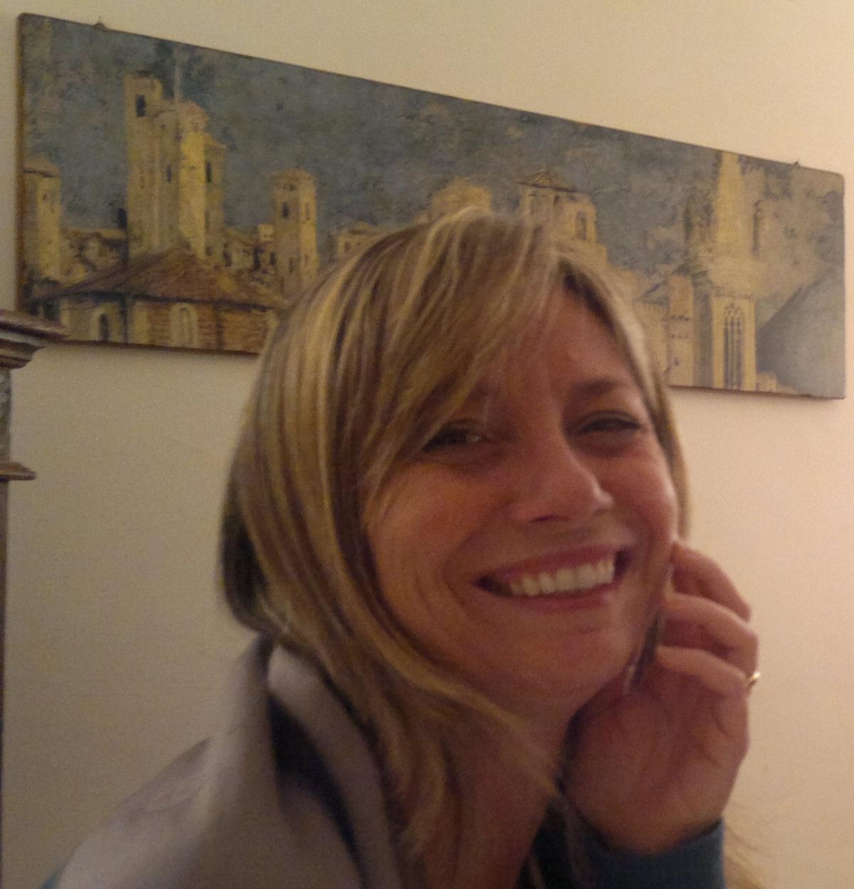 Hi, my name is MariaCristina and I live with my hu
