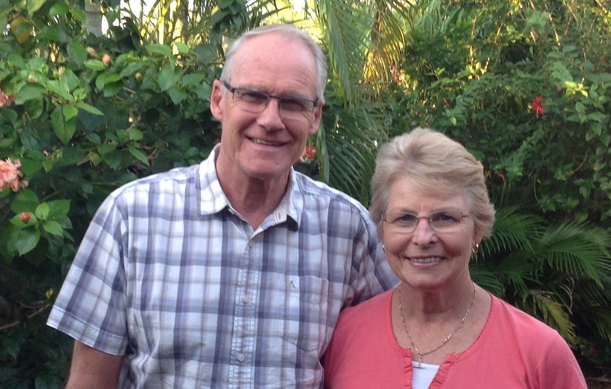 We are a recently retired couple who love our gard