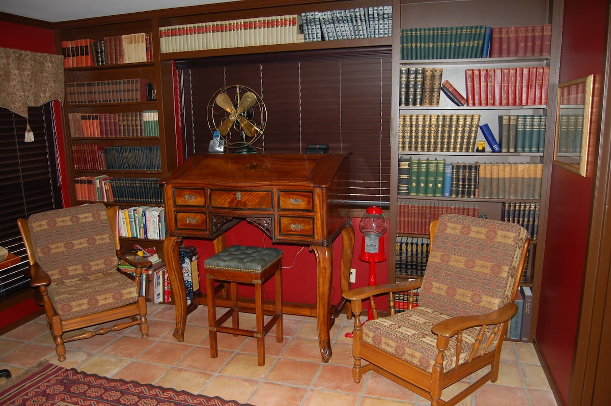 The library awaits your e-book or my collection of historical works