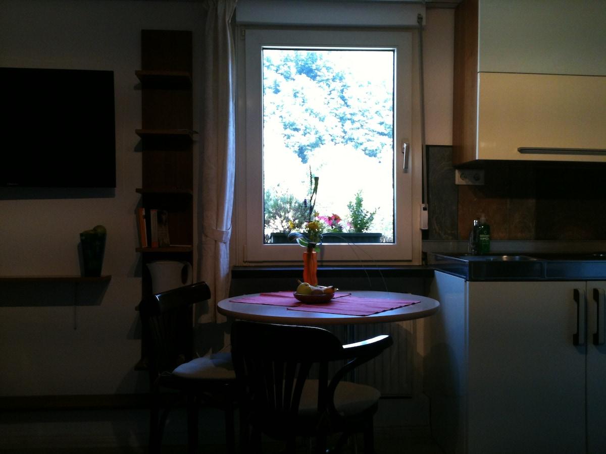 Helle Wohnung mit altem Fachwerk