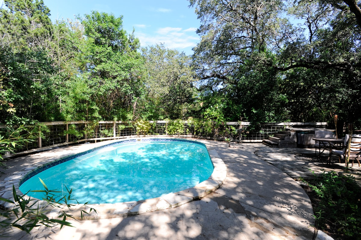 Pool with Complete Privacy and Beautiful Nature Surrounding