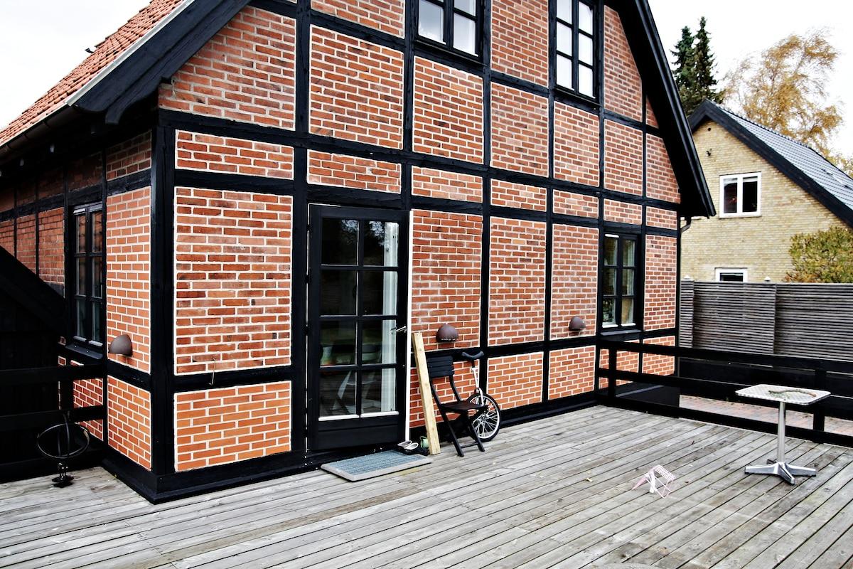 Charming old house in Copenhagen