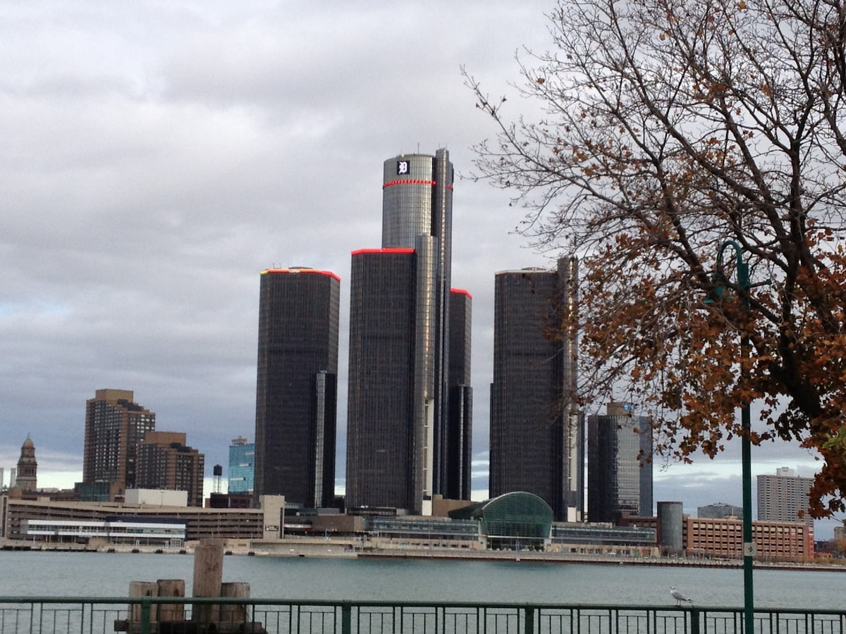 Little-known fact... the best view of the RenCen and the Detroit skyline is from Windsor, Ontario, Canada!